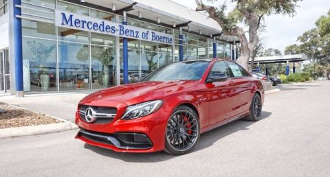 New 2018 Mercedes-Benz C 63 S AMG® Sedan