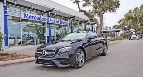 New 2018 Mercedes-Benz E 400 Sport AWD 4MATIC®