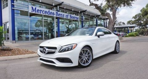 New 2018 Mercedes-Benz C 63 AMG® Coupe