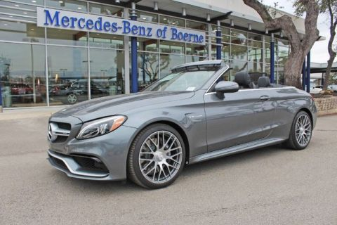 New 2017 Mercedes-Benz C 63 AMG® Cabriolet