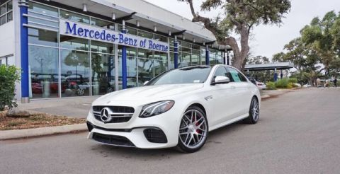 New 2018 Mercedes-Benz E 63 S AMG® Sedan AWD 4MATIC®