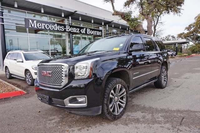 Pre Owned 2017 Gmc Yukon Denali Suv In Boerne Hr172464 Mercedes