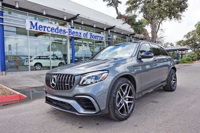 New 2018 Mercedes Benz Glc Amg Glc 63 Suv Suv In Boerne Jf432777