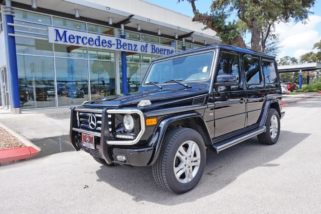 Certified Pre Owned 2013 Mercedes Benz G Class G 550