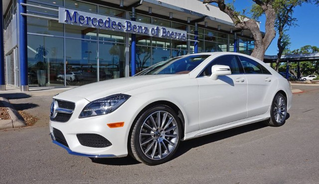 New 2017 mercedes benz cls cls 550 coupe in boerne for 2017 mercedes benz cls class msrp