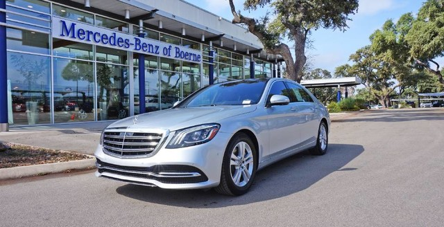 New 2018 mercedes benz s class s 450 sedan in boerne for Mercedes benz boerne service