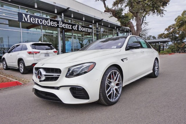 New 2019 Mercedes Benz E Class Amg E 63 S Sedan In Boerne Ka505069