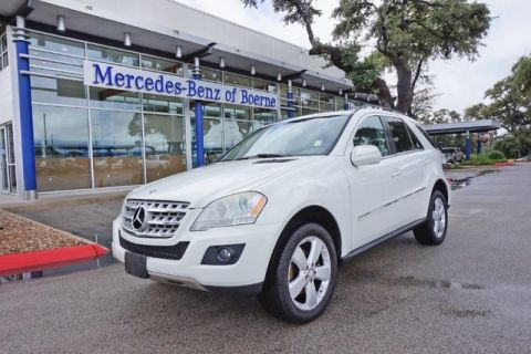 Pre Owned 2010 Mercedes Benz M Class ML 350