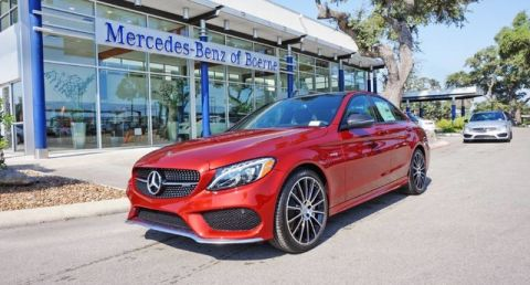 New 2018 Mercedes-Benz C-Class AMG® C 43 Sedan AWD 4MATIC®