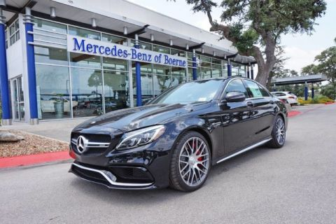New 2018 Mercedes-Benz C-Class AMG® C 63 S Sedan