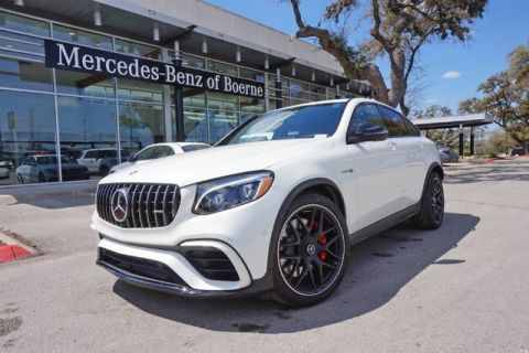 New 2018 Mercedes-Benz GLC AMG® GLC 63 S Coupe