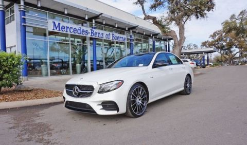 New 2018 Mercedes-Benz E-Class AMG® E 43 Sedan AWD 4MATIC®