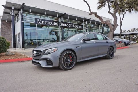 New 2020 Mercedes-Benz E-Class AMG® E 63 S Sedan